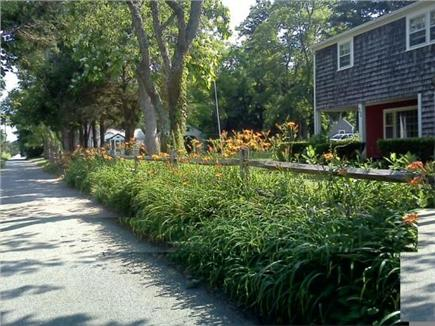 Barnstable Village Cape Cod vacation rental - Looking down private lane towards the water