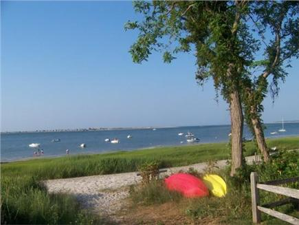 Barnstable Village Cape Cod vacation rental - Beautiful private beach on Barnstable Harbor, bring your kayaks