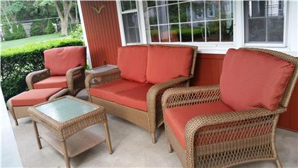 Barnstable Village Cape Cod vacation rental - Front Porch on a quiet lane