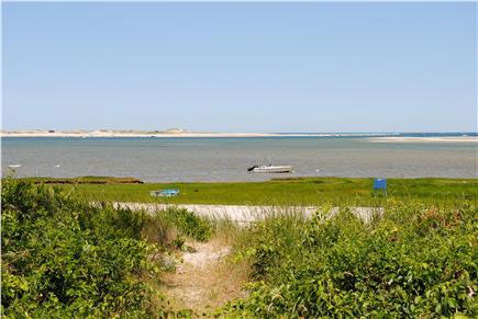 Barnstable, Cummaquid Cape Cod vacation rental - Pathway to private beach.