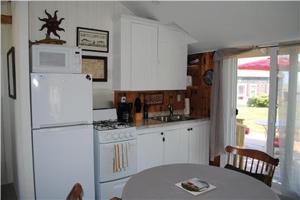 Barnstable, Cummaquid Cape Cod vacation rental - Cape Cod cottage kitchen with new appliances.