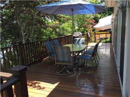 New Seabury/Mashpee New Seabury vacation rental - Dining area on the deck