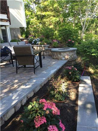 New Seabury/Mashpee New Seabury vacation rental - Patio with gas automatic fire pit on the ocean