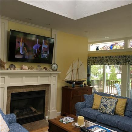 New Seabury/Mashpee New Seabury vacation rental - One of the living areas.