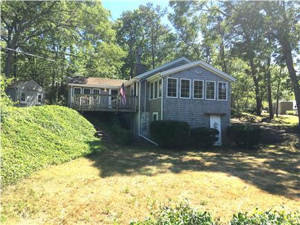 Eastham Cape Cod vacation rental - Large private lot. Lawn perfect for a game of corn hole!