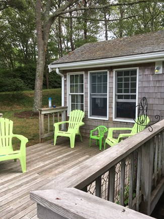 Eastham Cape Cod vacation rental - Relax on the deck!