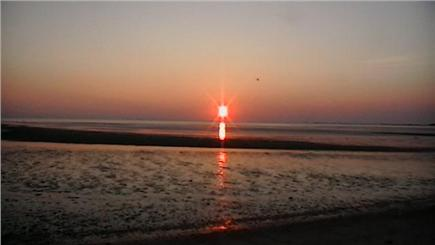 Eastham Cape Cod vacation rental - Sunset at Cook's Brook Beach