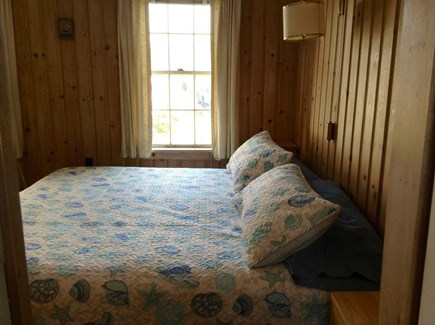 East Falmouth Cape Cod vacation rental - Master bedroom with king bed and Master Bathroom