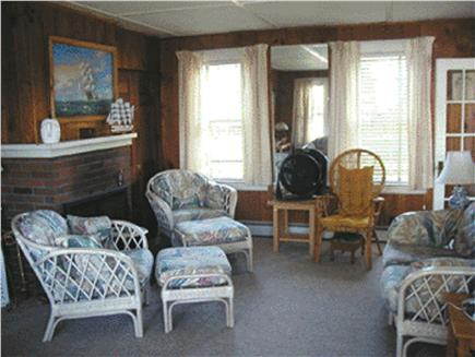 East Falmouth Cape Cod vacation rental - Living room (television with cable and DVD player are available)