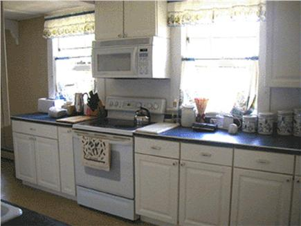 East Falmouth Cape Cod vacation rental - Kitchen with Keurig coffee maker, washer and dryer and dishwasher