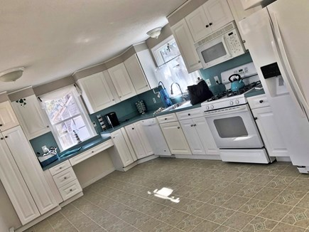 Eastham Cape Cod vacation rental - Large kitchen with all the amenities, gas stove