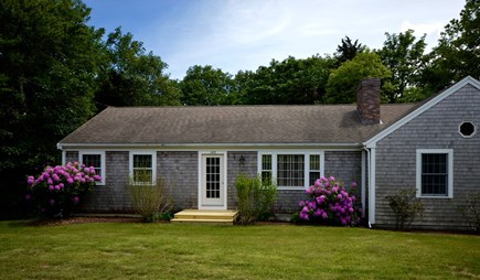 Orleans Cape Cod vacation rental - Front of Beautiful Beach Road Charmer