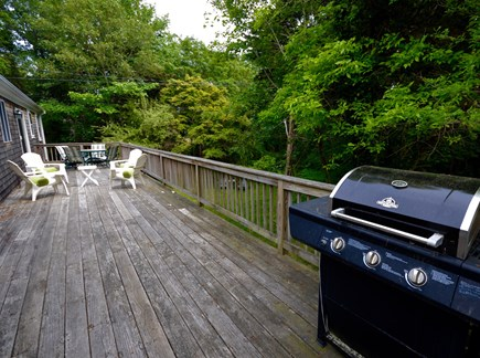 Orleans Cape Cod vacation rental - Porch space with grill and plenty of outdoor seating
