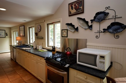 Orleans Cape Cod vacation rental - Fully equipped kitchen with gas stove/microwave/dishwasher/toaste