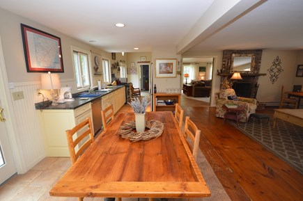 Orleans Cape Cod vacation rental - Open concept house with access to living rooms/kitchen/dining roo