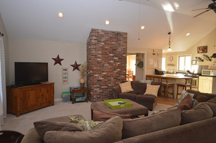 Orleans Cape Cod vacation rental - Open concept living room with plenty of light