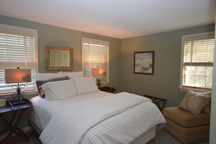 Orleans Cape Cod vacation rental - Bedroom 1: Main level master bedroom with Queen bed & A/C