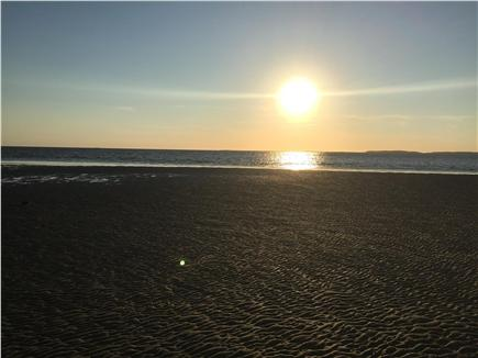 North Eastham Cape Cod vacation rental - Cooks Brook beach sunset