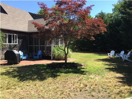 North Eastham Cape Cod vacation rental - Back yard