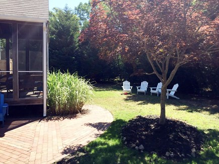 North Eastham Cape Cod vacation rental - Back yard