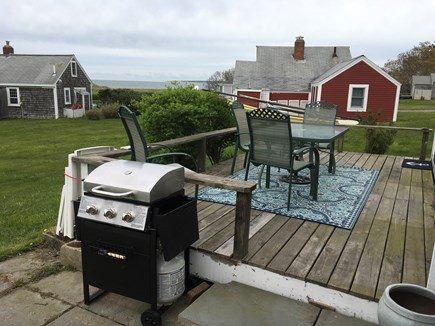 Barnstable, Cummaquid Cape Cod vacation rental - Enjoy the quaint deck, with wonderful water views