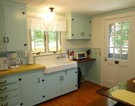 Orleans Cape Cod vacation rental - Kitchen area with dining area