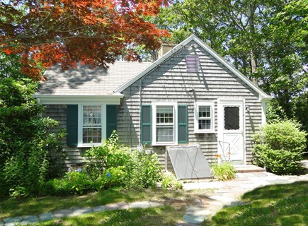 Orleans Cape Cod vacation rental - Lovely wooded setting with water behind house