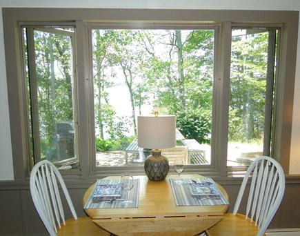 Orleans Cape Cod vacation rental - Enjoy morning coffee, overlooking patio and water