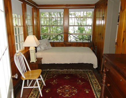 Orleans Cape Cod vacation rental - Sun room with day bed, door to back patio