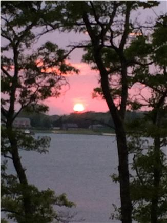 Orleans Cape Cod vacation rental - Another beautiful summer sunset as seen from the cottage patio.