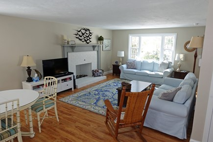 North Falmouth Cape Cod vacation rental - Living Room with 2 couches and Smart TV