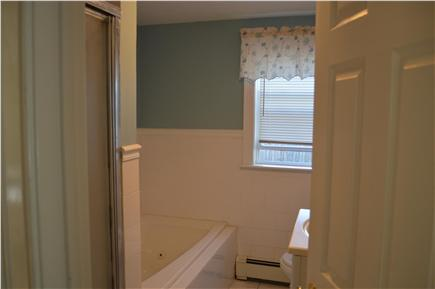 Hyannis Cape Cod vacation rental - Full bath on 1st floor with stand up shower and jaccuzi tub