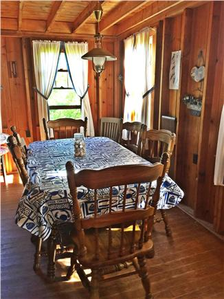 Brewster Cape Cod vacation rental - Dining for 6, but table has extension, if needed
