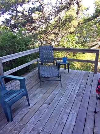 Brewster Cape Cod vacation rental - Relax on the deck overlooking the water and trees