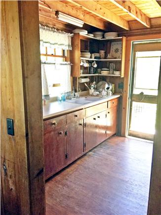 Brewster Cape Cod vacation rental - Kitchen has all the pots, pans & utensils you could ever want