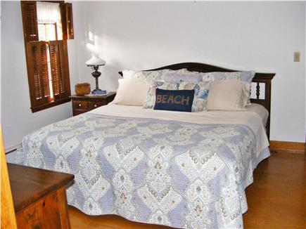 Provincetown Cape Cod vacation rental - Master Bedroom - King bed on main floor