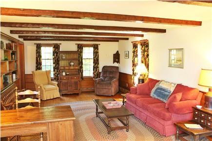 Provincetown Cape Cod vacation rental - Living room - a great place to read or enjoy quiet conversations