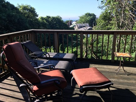 Provincetown Cape Cod vacation rental - Deck off Family Room with views of Long Point.