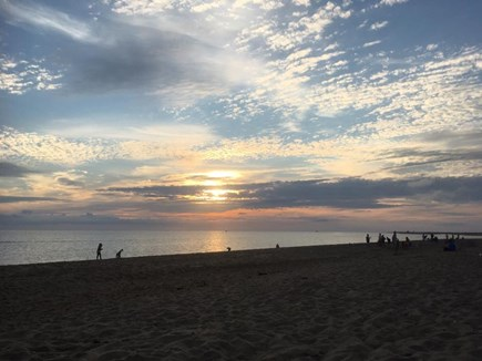 Provincetown Cape Cod vacation rental - Sunset at Herring Cove Beach - 10 minute drive