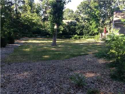 Eastham Cape Cod vacation rental - Fenced-in private back yard