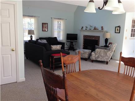 Eastham Cape Cod vacation rental - Open concept living, kitchen,dining