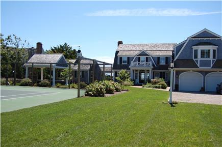Harwich Port Cape Cod vacation rental - Private Tennis court, Gazebo , Guest House & Main