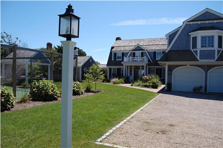 Harwich Port Cape Cod vacation rental - Main house with 2 car garage . Outdoor Ping pong table