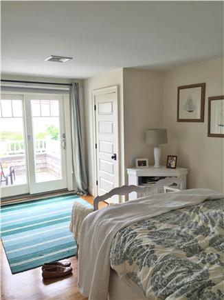 Harwich Port Cape Cod vacation rental - #3rd bedroom - Queen with Private deck Ocean View