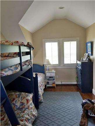 Harwich Port Cape Cod vacation rental - 4th Bedroom - Bunk beds & twin bed