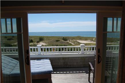 Harwich Port Cape Cod vacation rental - Master Bedroom deck view