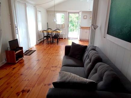 Wellfleet Cape Cod vacation rental - New Sofa is Greyish Now