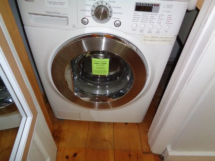 Wellfleet Cape Cod vacation rental - The Washer Dryer is an all in one combo