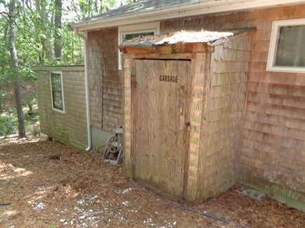Wellfleet Cape Cod vacation rental - Garbage has its very own shed