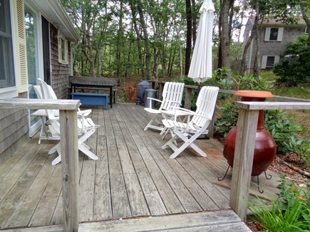 Wellfleet Cape Cod vacation rental - Nice Deck Area